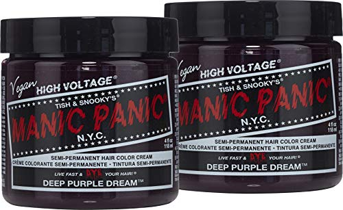 Manic Panic Deep Purple Dream Purple Hair Dye 2pk