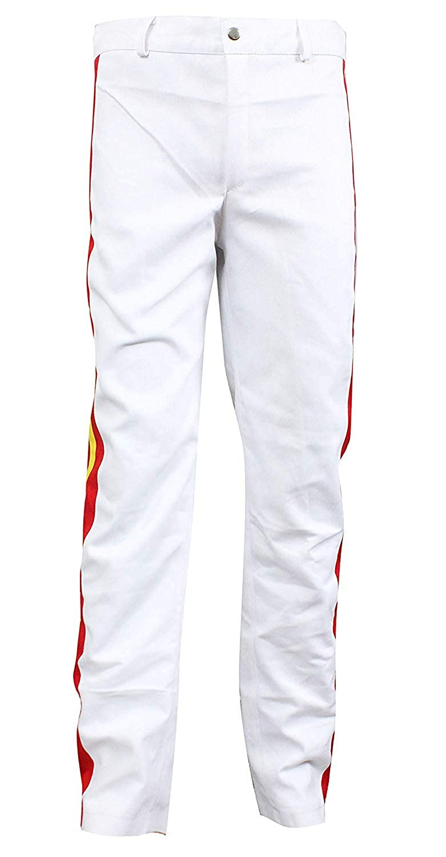 UGFashions Freddie Mercury Wembley Concert Yellow Belted Cotton Costume Jacket