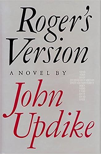 Roger S Version Amazon Fr John Updike Livres Anglais Et