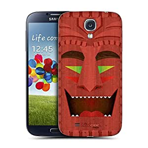 Head Case Designs Cheerful Tiki Collection Replacement Battery Back Cover for Samsung Galaxy S4 I9500