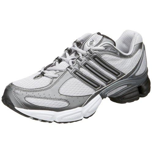 Entretener compromiso zorro  Buy Adidas Men's a3 Cushion Running Shoe, Silver/Black, 11.5 M at Amazon.in