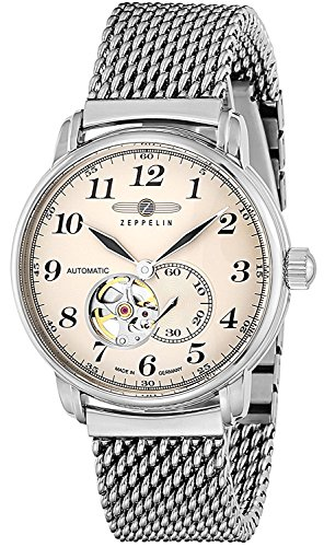 Zeppelin Watches LZ127 Graf Zeppelin ivory dial self-winding 7666M5 Men's