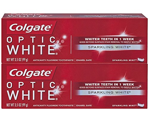 Colgate Optic White Toothpaste Sparkling Mint – 2 CT