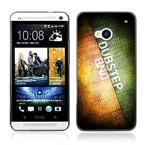 CQ Tech Phone Accessory: Carcasa Trasera Rigida Aluminio Para HTC One - Dubsteb & DNB Music