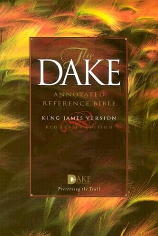 The Dake Annotated Reference Bible/Kjv/Full Color
