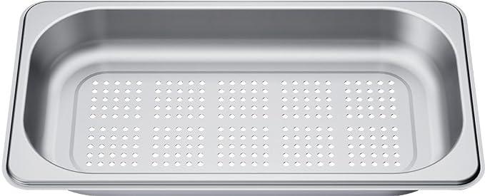 Siemens HZ36D613G - Bandeja de horno (Gris, 300 g, 600 g): Amazon ...