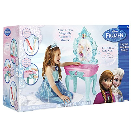 51AZ4RNSO9L - Frozen Disney Crystal Kingdom Vanity