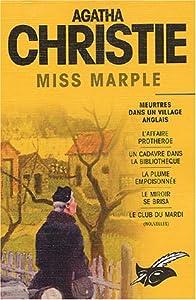 """Afficher """"Agatha Christie<br /> Miss Marple"""""""