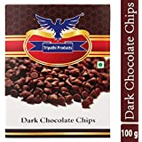 Tripathi Products Dark Chocolate Chips, 100 G Pack of 1