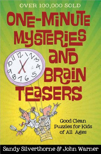 One-Minute Mysteries and Brain Teasers: Good Clean Puzzles for Kids of All - Outlets Silverthorne