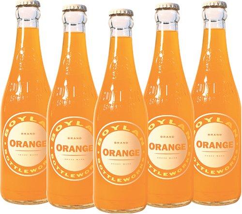 Boylan Bottleworks 12 oz. Orange 12pack