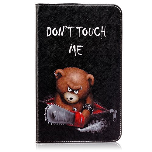 Tab E 8.0 case, Easytop Ultra Slim Lightweight Standing Flip PU Leather Wallet Folio Cover Case for Samsung Galaxy Tab E 8.0