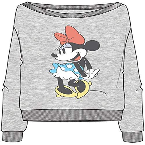 Minnie Mouse Flirty Women's Sweatshirt Large