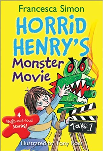 amazon horrid henry s monster movie francesca simon tony ross