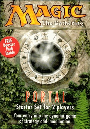 Magic the Gathering : Mazo de Portal + sobre 15 cartas en ...