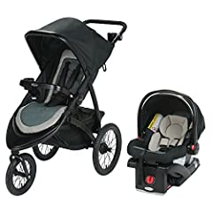 Experience 7 ways to ride with the Greco Modes 3 Essentials LX Travel System. It includes the Greco Snug Ride Snug Lock 30 Infant Car Seat, which attaches directly to the stroller frame. The reversible stroller seat allows baby to face you or...