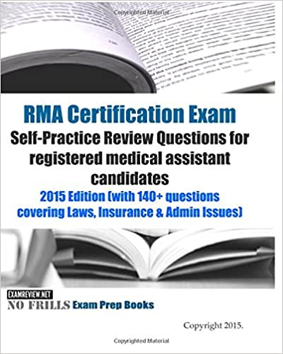 RMA Certification Exam Self-Practice Review Questions for registered ...