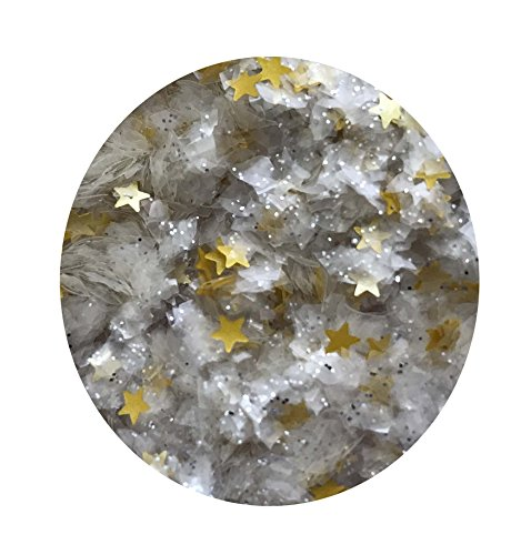 (EDIBLE GLITTER Pick Up your COLOR 1/4 oz. flakes, stars, for cakes,for cupcakes, for cookies By Oh Sweet Art (Magic)