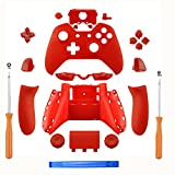 Cheap SN-RIGGOR Replacement Matte Red Controller Housing Shell Full Set Faceplates Buttons for Xbox One Controller with 3.5 mm Jack Xbox One Controller Shell Kit with 3.5mm port