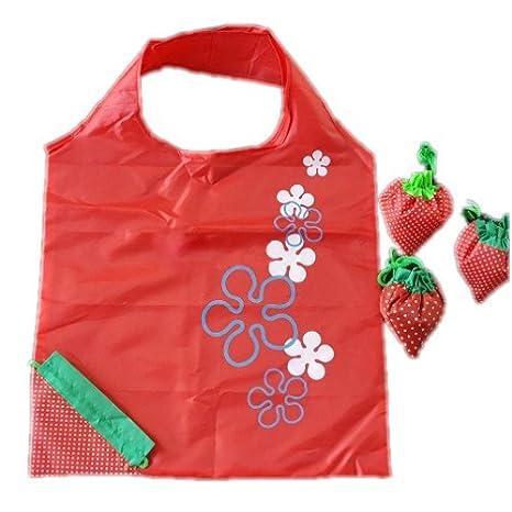 Bolsas de compra reutilizables, favolook plástico bolsa de ...