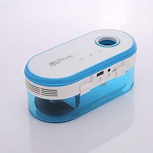 Purificador de aire, panniuzhe aire purifer con filtro de agua niebla humidificador difusor para el hogar oficina dormitorio: Amazon.es: Hogar