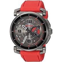 Diesel On Men's Hybrid Smartwatch Red Silicone DZT1005