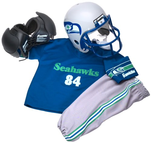 4cdec7e3c1868 Amazon.com : Franklin Sports NFL Seattle Seahawks Youth Team Uniform Set,  Small : Football Uniforms : Clothing