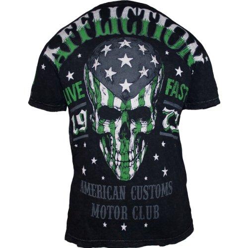 shirt Flag T Affliction Acmc Black Tqa5qtA