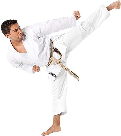 14oz WKF Martial Arts Gold Gi Tokaido Karate Kata Japanese Cut