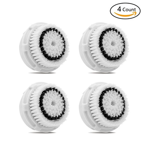 4 Count Sensitive Brush Replacements Head