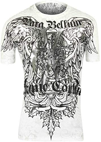 Couture Mma Xtreme - Xtreme Couture Mens Cast Iron MMA T-Shirt - White - XL