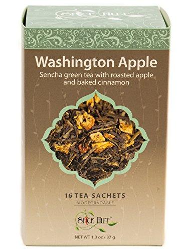 The Spice Hut Washington Apple Green Tea, 16 Count