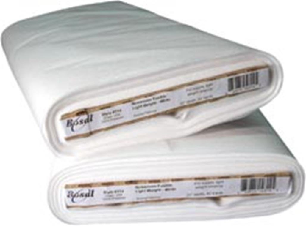 Bosal Fusible Non-Woven Lightweight Interfacing, 20 in x 40 yd White 314