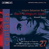 Bach: Cantates sacrées vol. 27 BWV 5, 80, 115