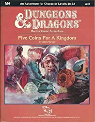 Five Coins for a Kingdom (Dungeons & Dragons Module M4)