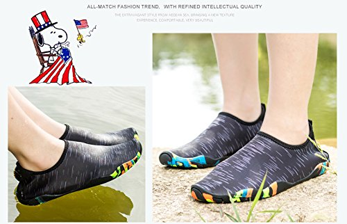 Aqua Dry AVADAR Barefoot Shoes Black Water Women Shoes Quick Men q6OT0S