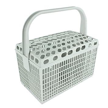 AEG Besteckkorb Geschirrspüler Kunststoff Käfig, (Light Grey)