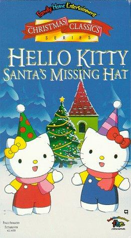 0114103fbb63e Amazon.com  Hello Kitty  Santa s Missing Hat  VHS   Karen Bernstein ...