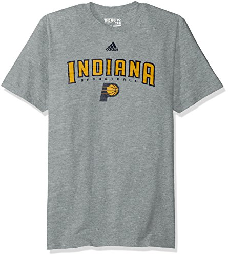 fan products of NBA Indiana Pacers Men's Miracle Short Sleeve Go-To Tee, Large, Gray