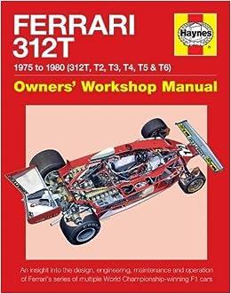 1975 FERRARI 312 T 312T Race Car Cutaway PICTURE CARD