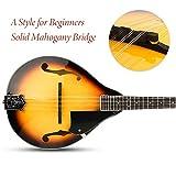 Vangoa A Style Mandolin Musical Instrument