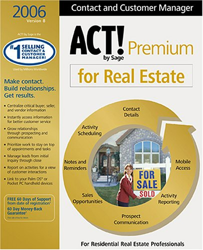 Act! By Sage Premium for Real Estate 2006