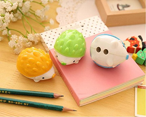 TryTry Hedgehog Two Hole Sharpeners Classrooms