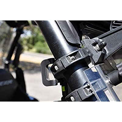 "Pkg. of 2 side by side UTV roll bar clamps roll cage mounting clamp 1.75 inch 1-3/4 inch 1.75"" 1 3/4"" Polaris RZR Arctic Cat: Automotive"