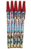 Bratz Red Capped Matching Pens Collection (5 Pens, All Matching Designs)