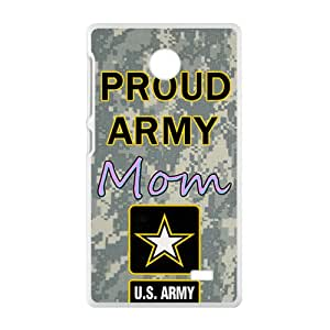VOV US Proud army mon Cell Phone Case for Nokia Lumia X