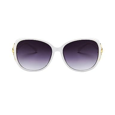 LINNUO Lunette de Soleil Classique Eyewear Polarisées Rétro Sunglasses Oversize Sports Femmes (Violet,One Size)