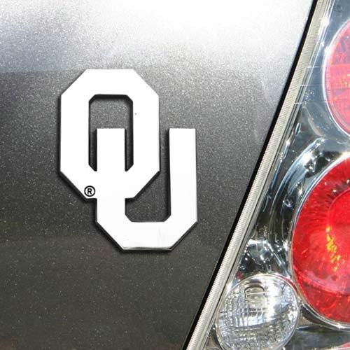 NCAA Oklahoma Sooners Premium Metal Auto Emblem