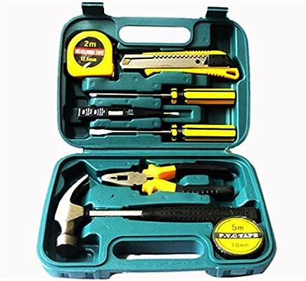 Caja De Herramientas Coche Juego De Herramientas Manuales Del Coche De Hardware Del Electricista Hammer Household Toolbox, Kit Herramientas Automóvile: Amazon.es: Coche y moto