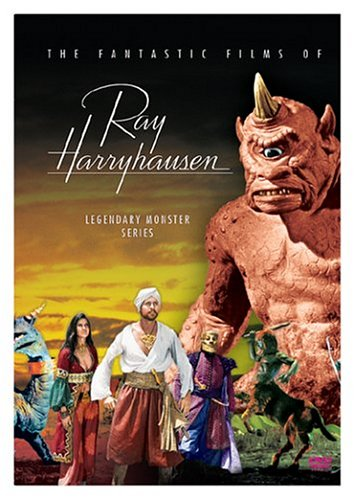The Fantastic Films of Ray Harryhausen - Legendary Monster Series (Jason and the Argonauts / The Seventh Voyage of Sinbad / The Golden Voyage of Sinbad / Sinbad and the Eye of the Tiger / The 3 Worlds of Gulliver) by Sony